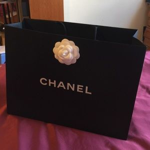 Authentic Chanel Shopping bag large