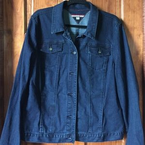 Like New! Tommy Hilfiger Jean jacket Ladies XXL