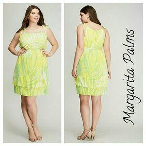 Lane Bryant Dresses & Skirts - Lane bryant TIE-SHOULDER PLEATED DRESS 1x 2x 3x 4x