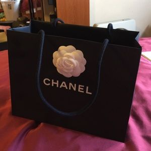 Authentic Chanel medium shopping bag