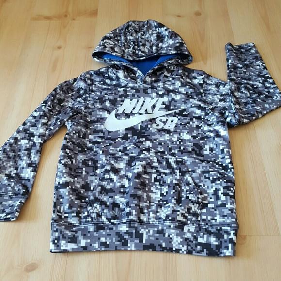 9b91866c3785 Nike hoodie. Minecraft design. M 57f530d29c6fcf5b7f007067