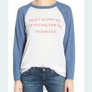 Wildfox Tops - WILDFOX TEE DONT BLAME ME