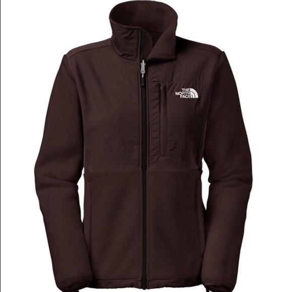19f1c33a3 Chocolate brown North Face Denali jacket