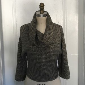 INC International Concepts Cowl Neck Sweater S