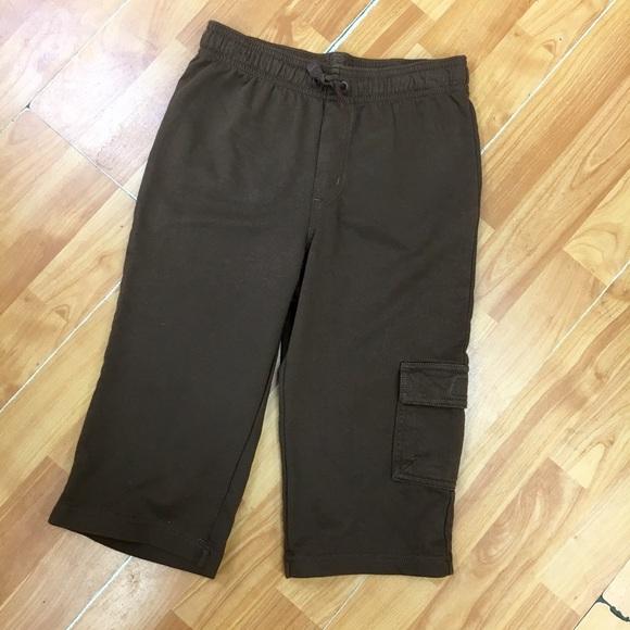 45d27ce94429b Gymboree Bottoms | Brown Knit Boys Capris Capri Pants New 7 | Poshmark