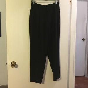 Ellen Tracy black trousers
