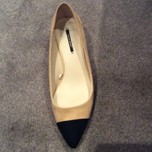 52e51788236 Zara Shoes - NEW ZARA MID-HEEL CHANEL DUPE SHOES SIZE 7.5
