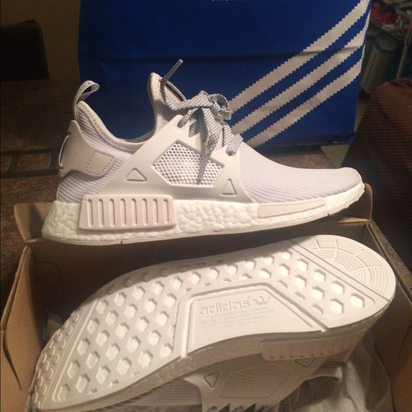 sneakers for cheap 17b2e 9c55c adidas Nmd xr1 PK -white womens 7