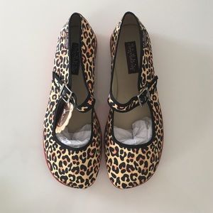 Hot Chocolate Design Leopard Shoes