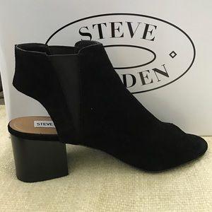09ffdefce8a Steve Madden Shoes - Steve Madden Ivy Black Suede