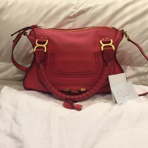 Chloe Handbags - Chloe Marcie Medium Satchel