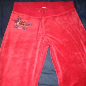 Christian Audigier Pants - Christian Audigier velour pants!