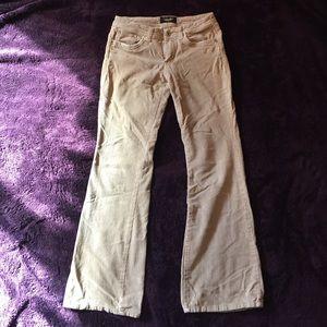 Angels tan corduroy bell bottom pants, 5