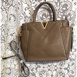 Boutique Handbags - Stunning Tote Bag Large Brown with Shoulder Strap