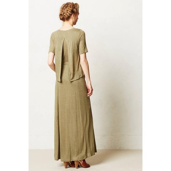 57 off anthropologie dresses skirts anthropologie for Anthropologie mural maxi dress