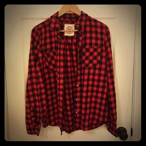 NWOT Traditional plaid button down