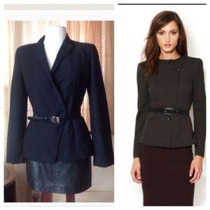 Armani Collezioni Jackets & Blazers - Armani Collezioni black blazer