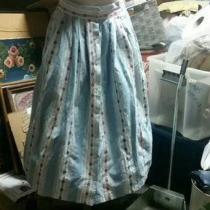 Vintage skirt full skirt