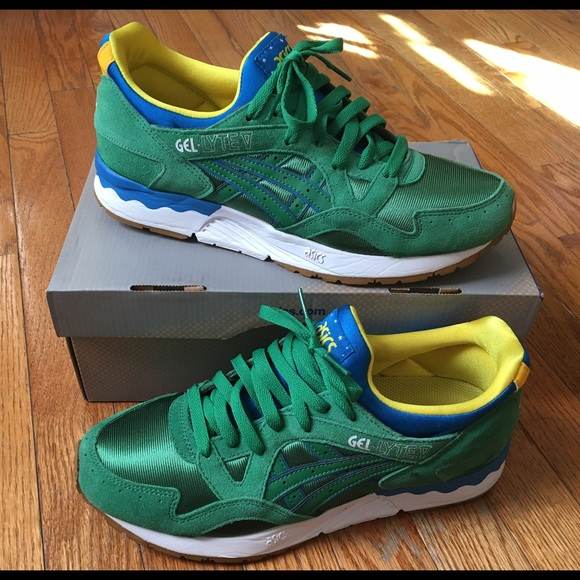 new product 3b1f3 06fcc Asic Gel Lyte V sz 9.5 limited Brazil Edition Mint