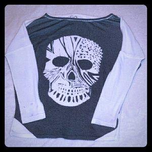 Boheme Sweaters - ☠Boheme Oversized skull Sweater☠