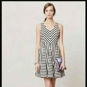 Anthropologie Striped Day dress by Saturday/Sunday