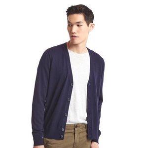GAP Other - Gap- Navy Merino Wool Cardigan