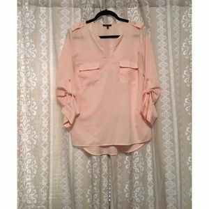 Peach blouse