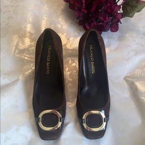 Franco Sarto Shoes - Franco Sarto Suede Heels