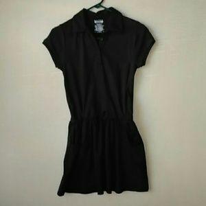 Nautica  girls navy blue shirt-dress