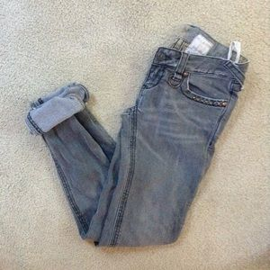Free People Distressed Jeans Since size 25