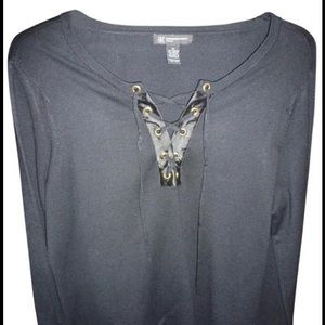 INC International Concepts Knit Top