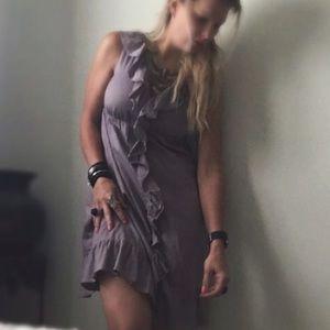 GAP Dresses & Skirts - Light purple GAP ruffle dress