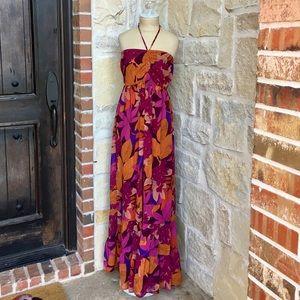 H&M Floral Print Maxi Dress