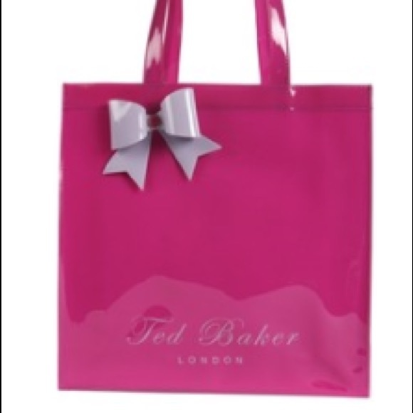6797a2fd895a pink large Ted baker London tote. M 5811423f8f0fc4646e000e19