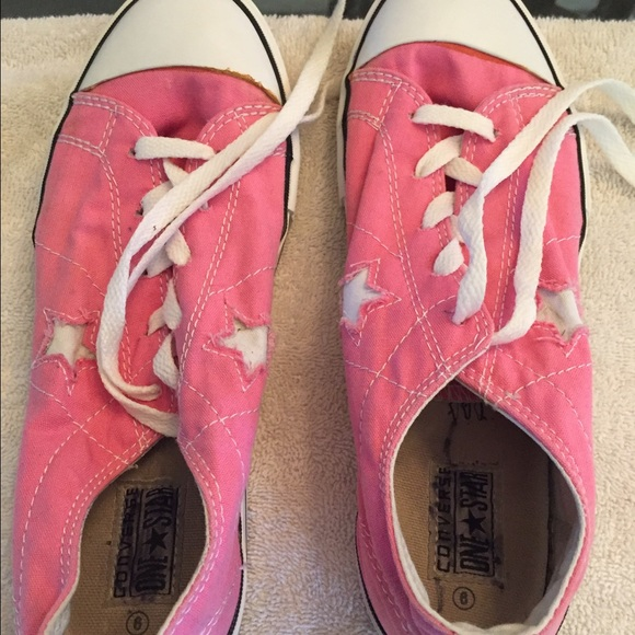 Converse Shoes | Gently Used Light Pink