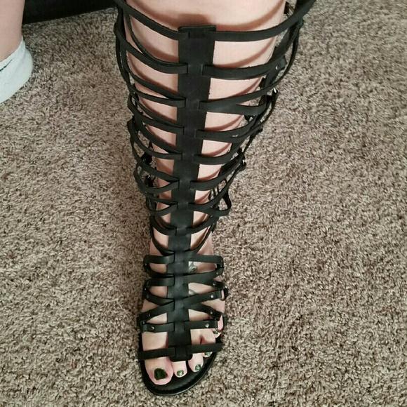 6137e12b634c Torrid Gladiator Sandals