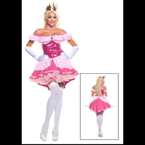 Wildfox Other Sexy Princess Peach Halloween Costume Poshmark