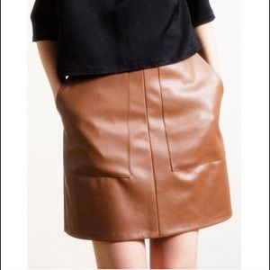 Loup Dresses & Skirts - Tan Pam Skirt