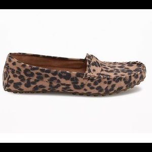 98bd24a631c Old Navy Shoes - LAST ONE Leopard Print Moccasin Loafer