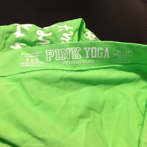 Victoria's Secret - Victoria's Secret PINK yoga underwear NEW from ...
