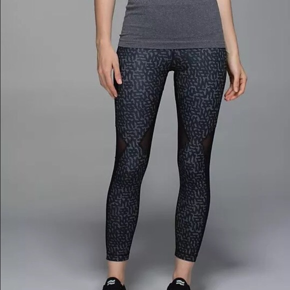 21% off lululemon athletica Pants - NEW Lululemon mesh back pants ...