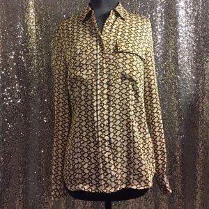 Authentic Michael Kors chain blouse
