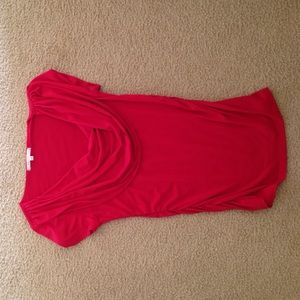 Charlotte Russe Ruffle Shirt