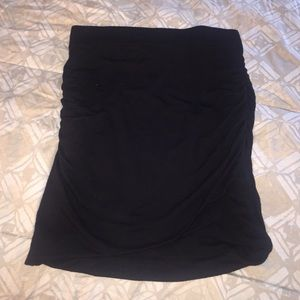 LAST CHANCE🎉Banana Republic Jersey Black Skirt -S