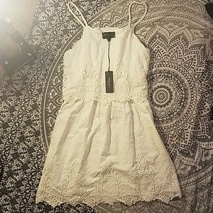 Romeo Juliet Couture white lace dress