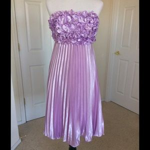 mtnhiker Dresses & Skirts - Gorgeous Lilac Strapless Dress 🎉HP X3