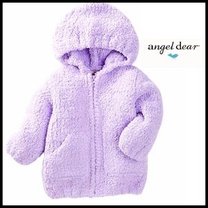 Angel Dear Other - ANGEL DEAR Hoodie Jacket Micro Fleece Coat