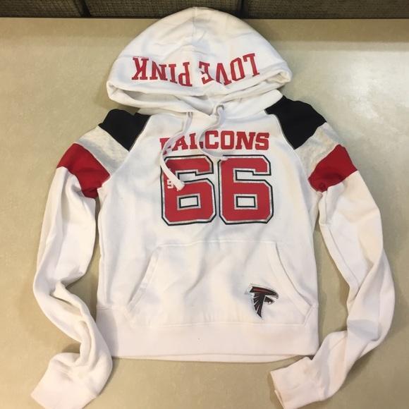 new style 8e395 77344 VS PINK Atlanta Falcons hoodie
