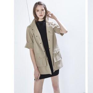Rebecca Minkoff Lorena Trench Coat Jacket, XS