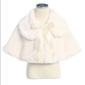 Other - Cream faux cape!😍😍😍